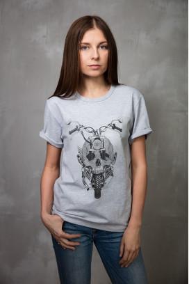 Женская футболка Scull Ilusion