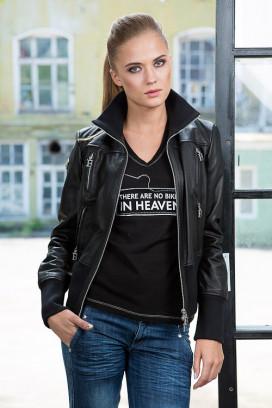 Женская кожаная куртка Vita Di Vespa