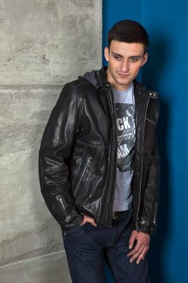 Кожаная куртка Forza