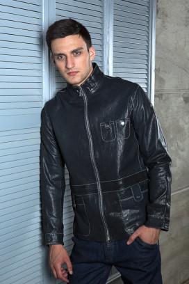 Кожаная куртка Leggero Blu